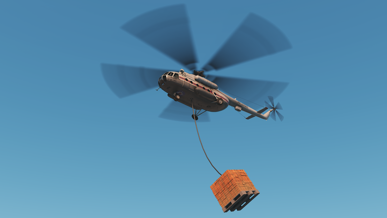Helicopter rope 1